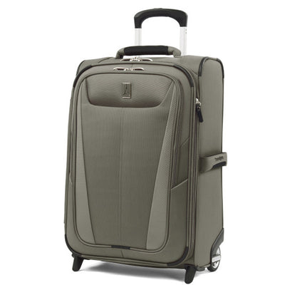 "Travelpro Maxlite 5 Expandable 22"" Rollaboard Carry On Suitcase Slate Green"