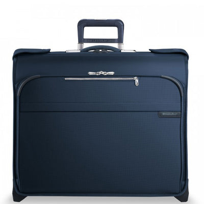 Navy Briggs & Riley Baseline Deluxe Wheeled Garment Bag