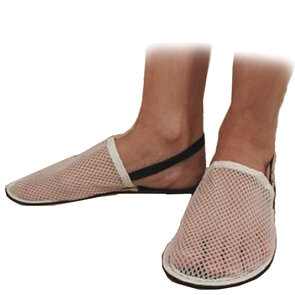 d6601f6fd25f88 Men s Mesh Travel Slippers Ultra Soles · Ultra Soles Travel Slippers for Men  with Mesh Upper and Non Slip Bottom