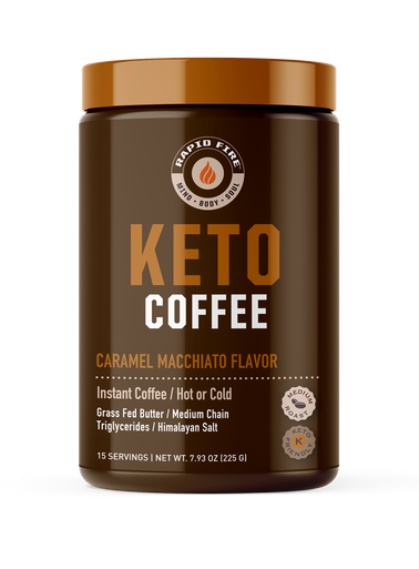 Rapid Fire Instant Keto Coffee