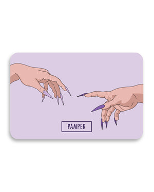 Pamper Gift Card