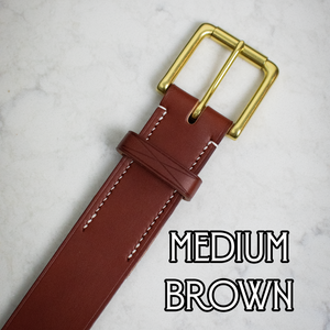 Deluxe English Bridle Belt