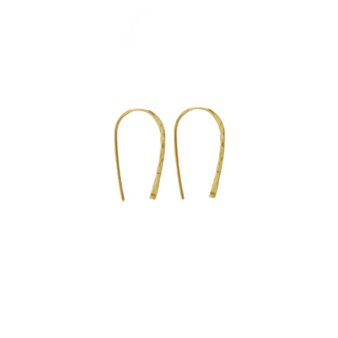 Wishful Earrings - small gold