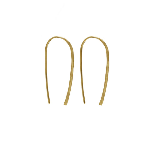 Wishful Earrings - large gold