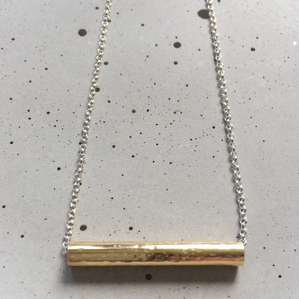 Easy Peasy Necklace - gold