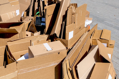 Recycling Cardboard Boxes