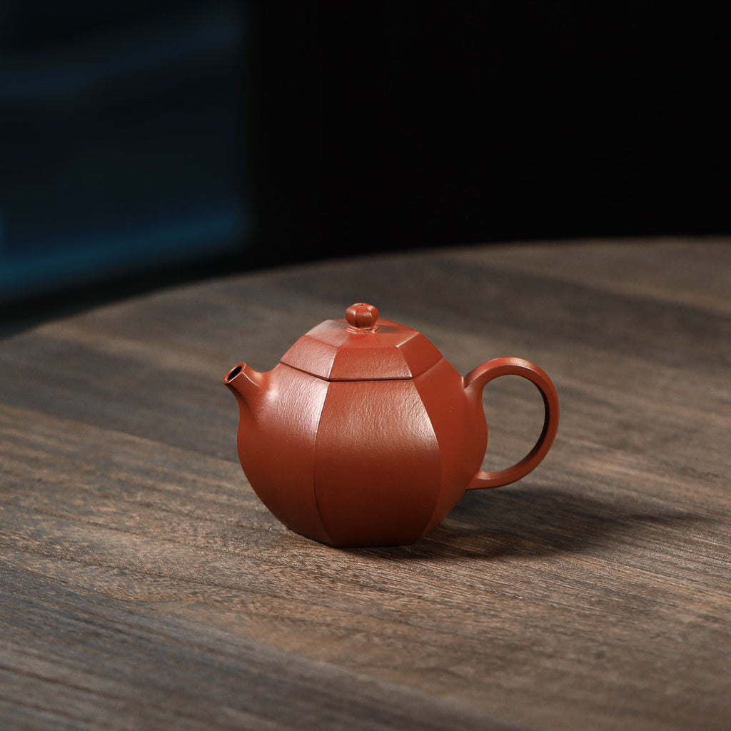 Hexagon Xishi Yixing Teapot 140ML