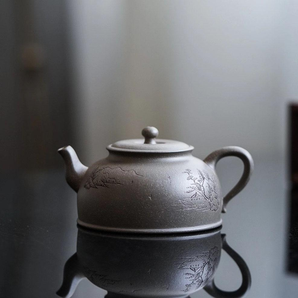 Ripple Yixing Teapot 150ML