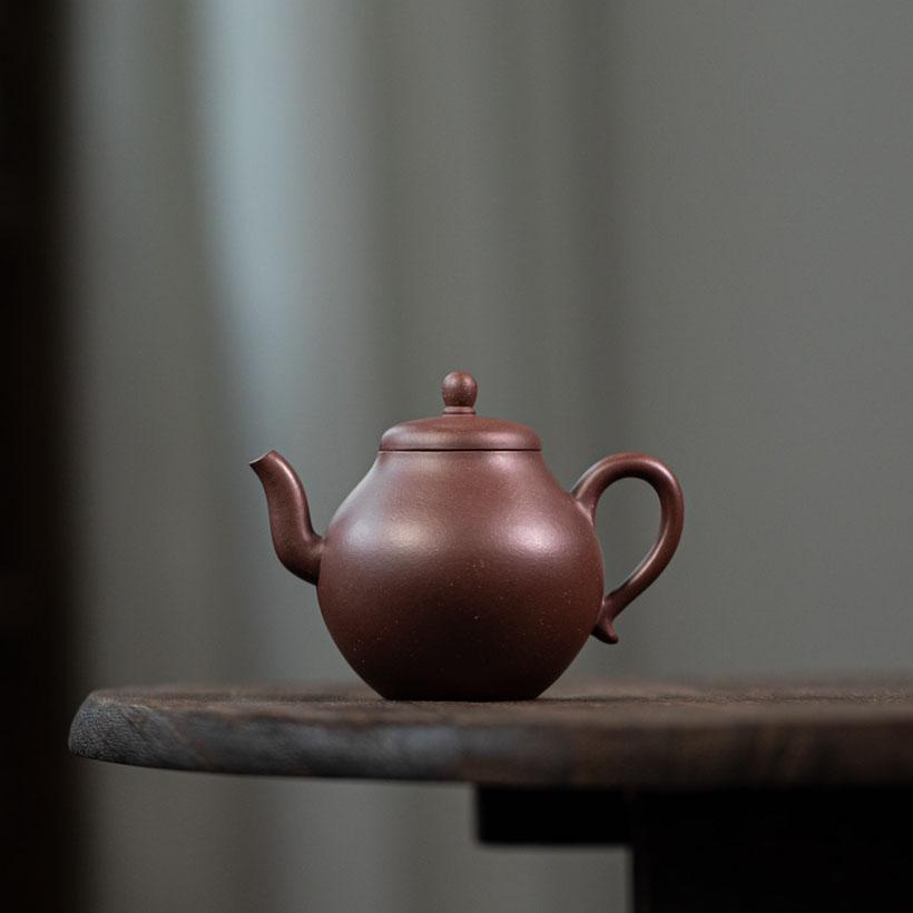Tall Pear Yixing Teapot 160ML