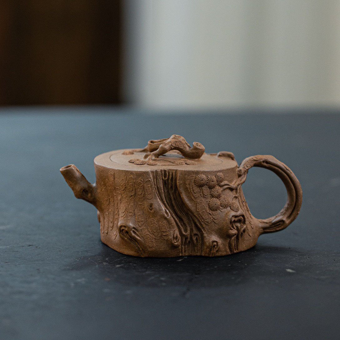 Pine Stump Yixing Teapot 170ML