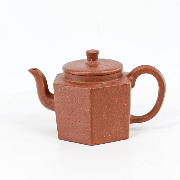 Hexagon Gong Deng Yixing Teapot 120ML