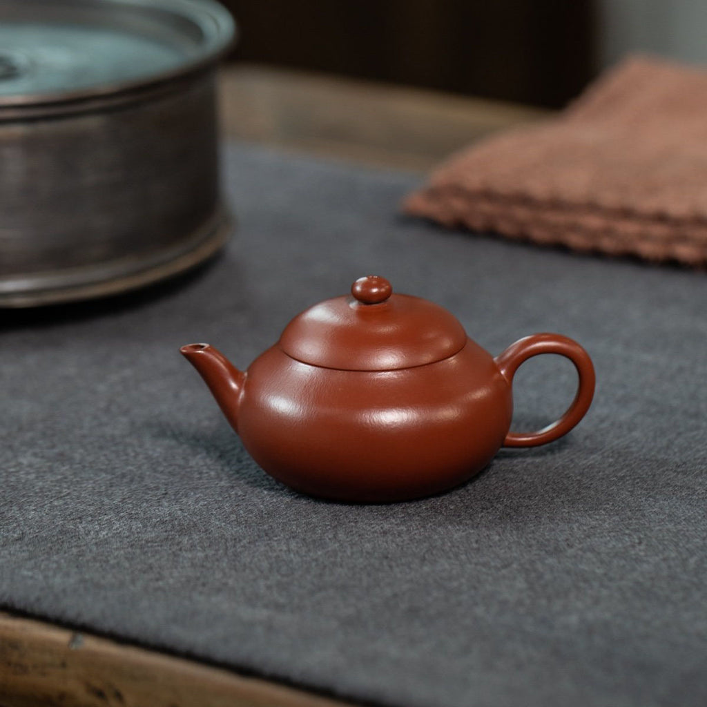 Flat Pear Style Yixing Teapot 80ML