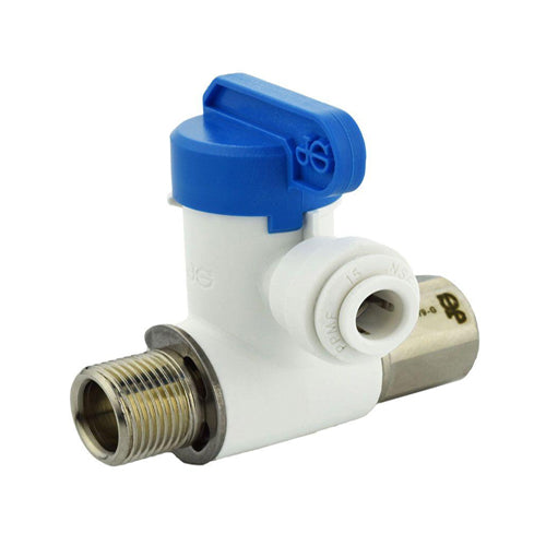 JG Speedfit ASVPP1LF 3-8-Inch by 3-8-Inch by 1-4-Inch Angle Stop Adapter Valve
