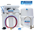 50GPD Reverse Osmosis System w- Permeate Pump - Made in the USA - GQM-550PE