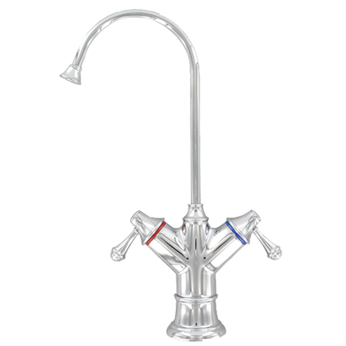 Aquatron Traditional Chrome Hot & Cold Non Air Gap Faucet