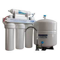 50GPD Reverse Osmosis Water Filtration System - Made in the USA - AQM-550