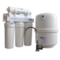 50GPD Reverse Osmosis and Chloramine Removal w- Plastic Tank - Made in the USA - GQM-550