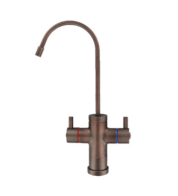 Aquatron Contemporary Oil Rubbed Bronze Hot & Cold Non Air Gap Faucet