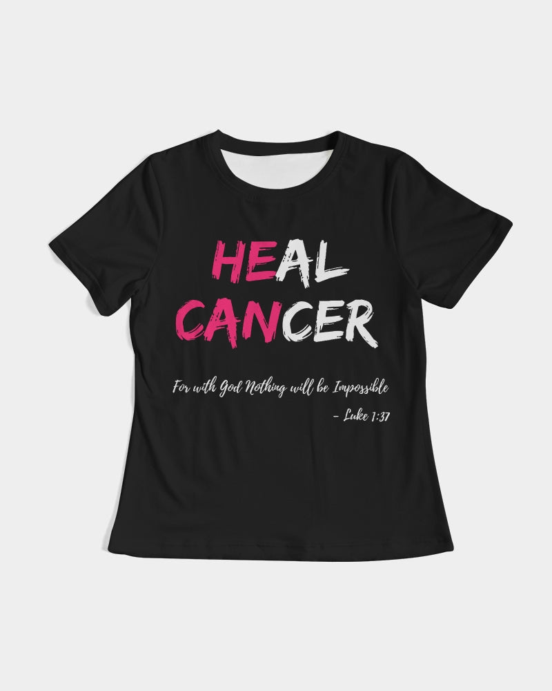 Heal Cancer Women's Tee (Black)
