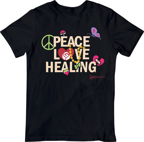 PEACE LOVE HEALING WOMEN'S TEE