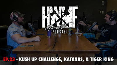 EP. 23 - KUSH UP CHALLENGE, KATANAS & TIGER KING