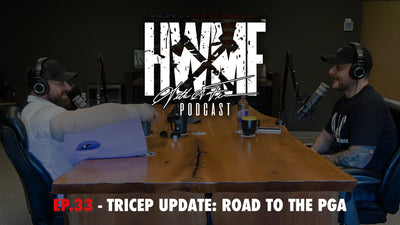 EP. 33 - TRICEP UPDATE: ROAD TO THE PGA