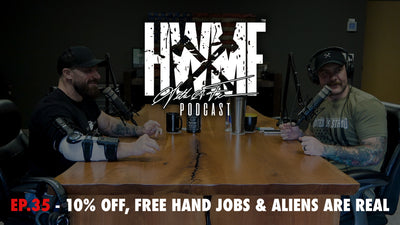 EP. 35 - 10% OFF, FREE HAND JOBS & ALIENS ARE REAL