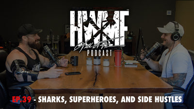 EP. 39 - SHARKS, SUPERHEROES, & SIDE HUSTLES