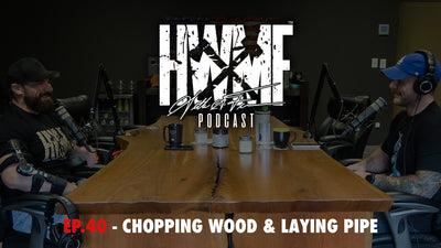 EP. 40 - CHOPPING WOOD & LAYING PIPE