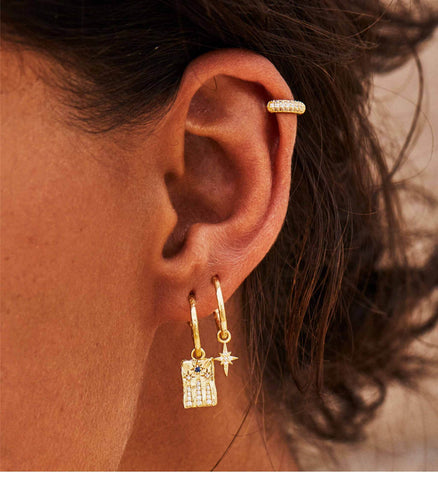 By-Charlotte-Gold-Earring