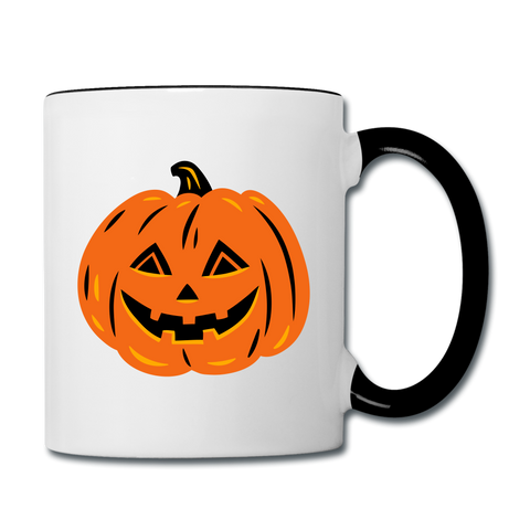 Fall Coffee Mug - white/black