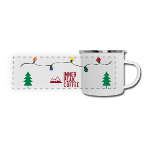 Holiday Camping Mug - white