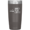 A pewter 20 oz vacuum sealed double wall stainless steel tumbler