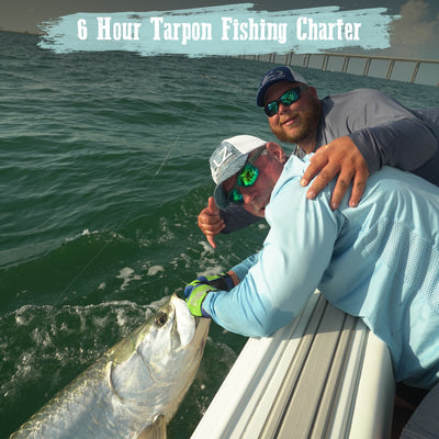 6 Hour Tarpon Fishing Charter
