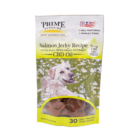 CBD Dog Treats – Salmon Jerky Recipe - Prime Sunshine