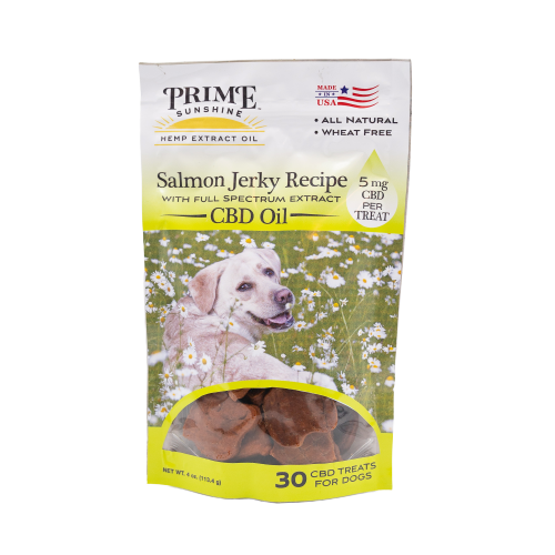 CBD Dog Treats – Salmon Jerky Recipe