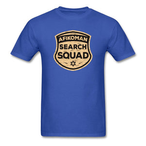 AFIKOMEN SEARCH SQUAD Unisex Classic T-Shirt - royal blue