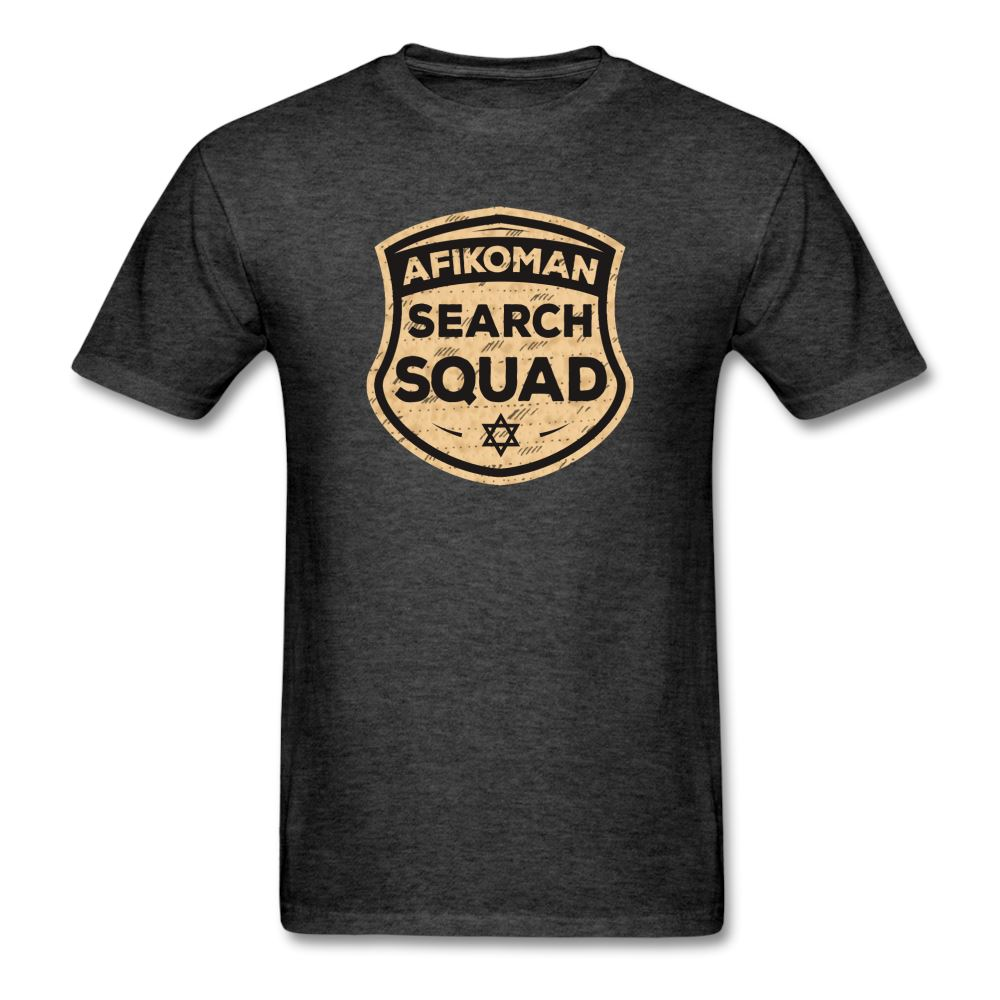 AFIKOMEN SEARCH SQUAD Unisex Classic T-Shirt - heather black