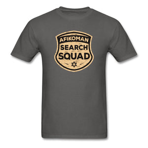 AFIKOMEN SEARCH SQUAD Unisex Classic T-Shirt - charcoal