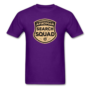 AFIKOMEN SEARCH SQUAD Unisex Classic T-Shirt - purple