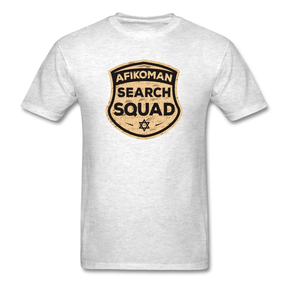 AFIKOMEN SEARCH SQUAD Unisex Classic T-Shirt - light heather gray