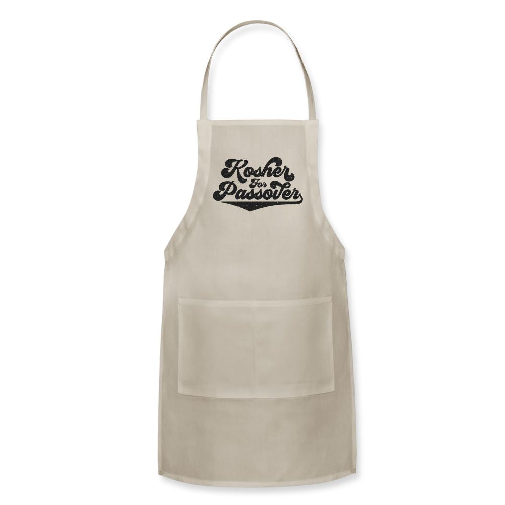 Kosher for Passover Adjustable Apron - natural
