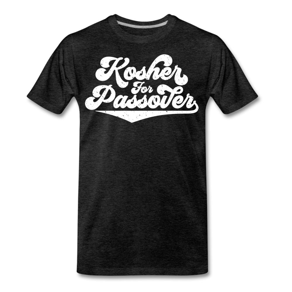 Kosher for Passover Men's Premium T-Shirt - charcoal gray