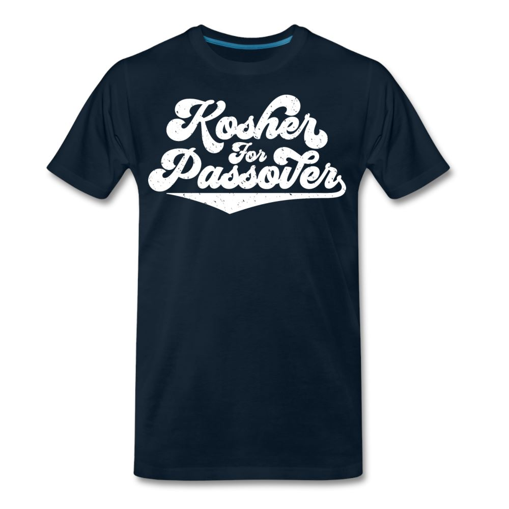 Kosher for Passover Men's Premium T-Shirt - deep navy