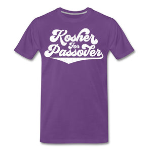 Kosher for Passover Men's Premium T-Shirt - purple