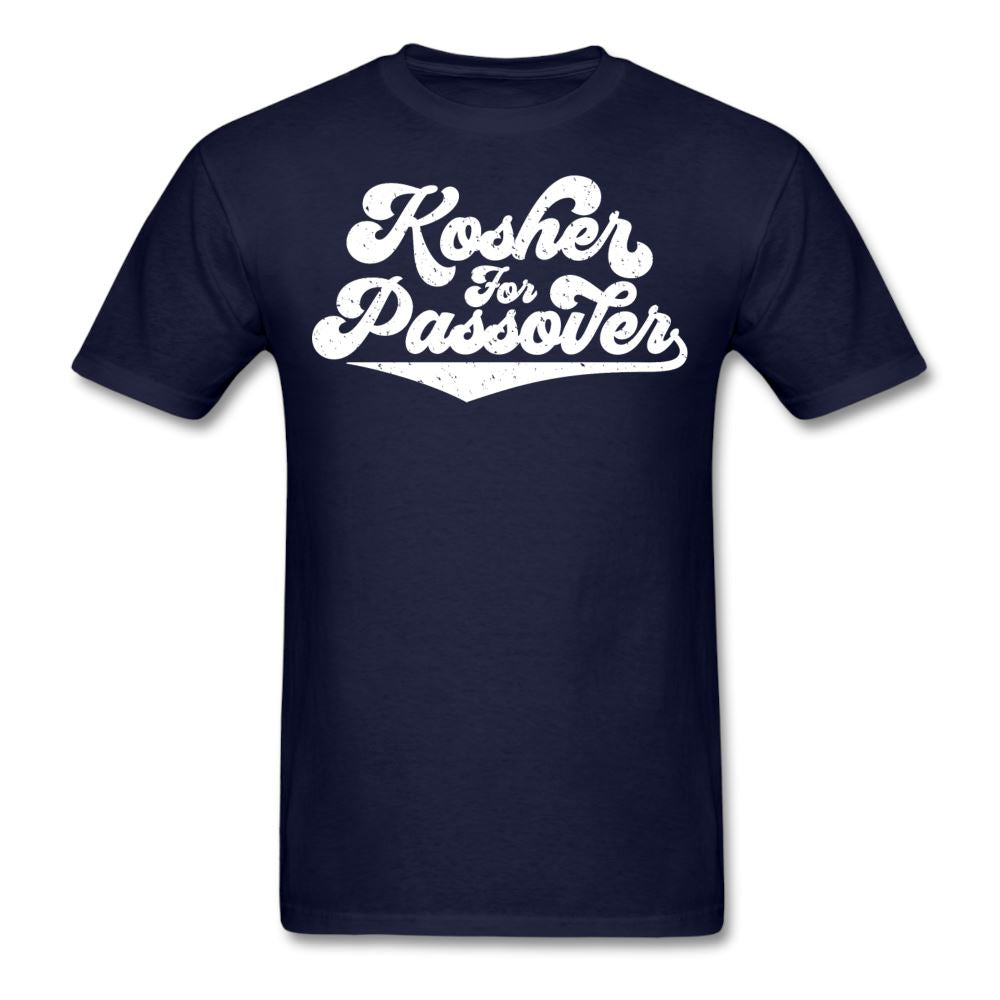 KOSHER FOR PASSOVER Unisex Classic T-Shirt - navy