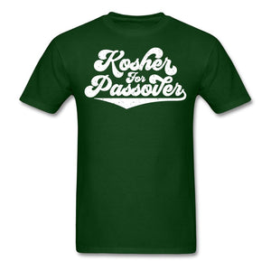 KOSHER FOR PASSOVER Unisex Classic T-Shirt - forest green