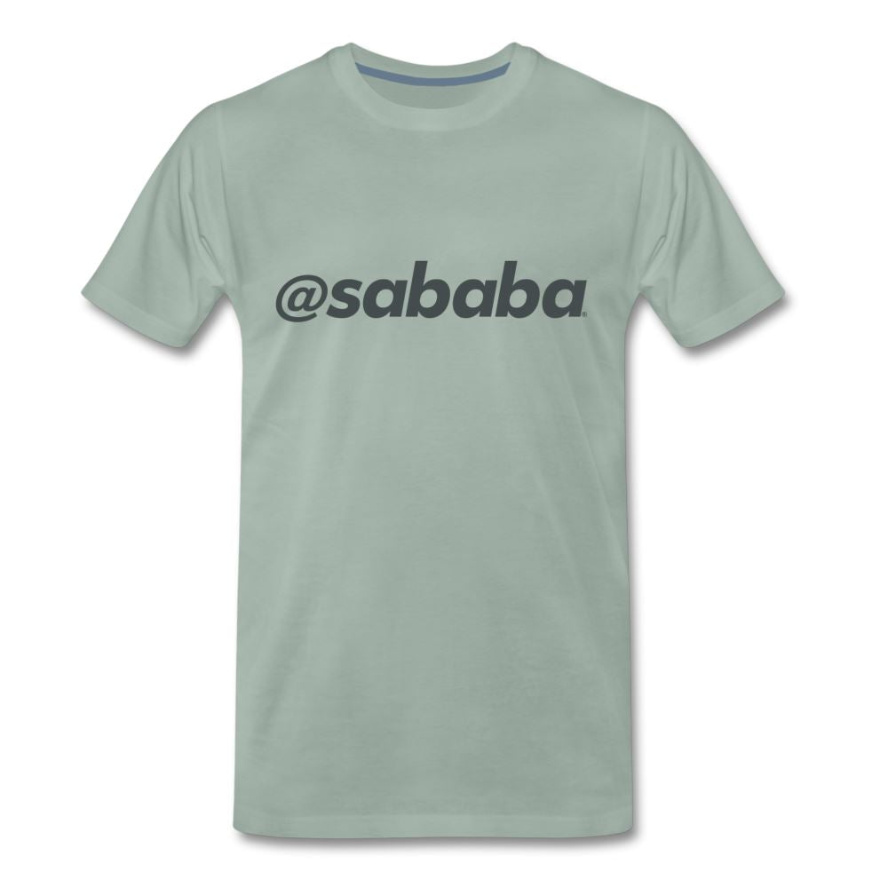 @sababa Men's Premium T-Shirt - steel green