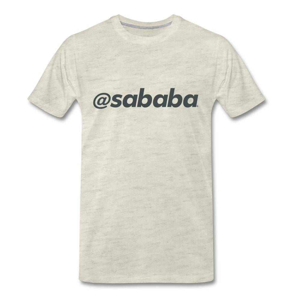 @sababa Men's Premium T-Shirt - heather oatmeal