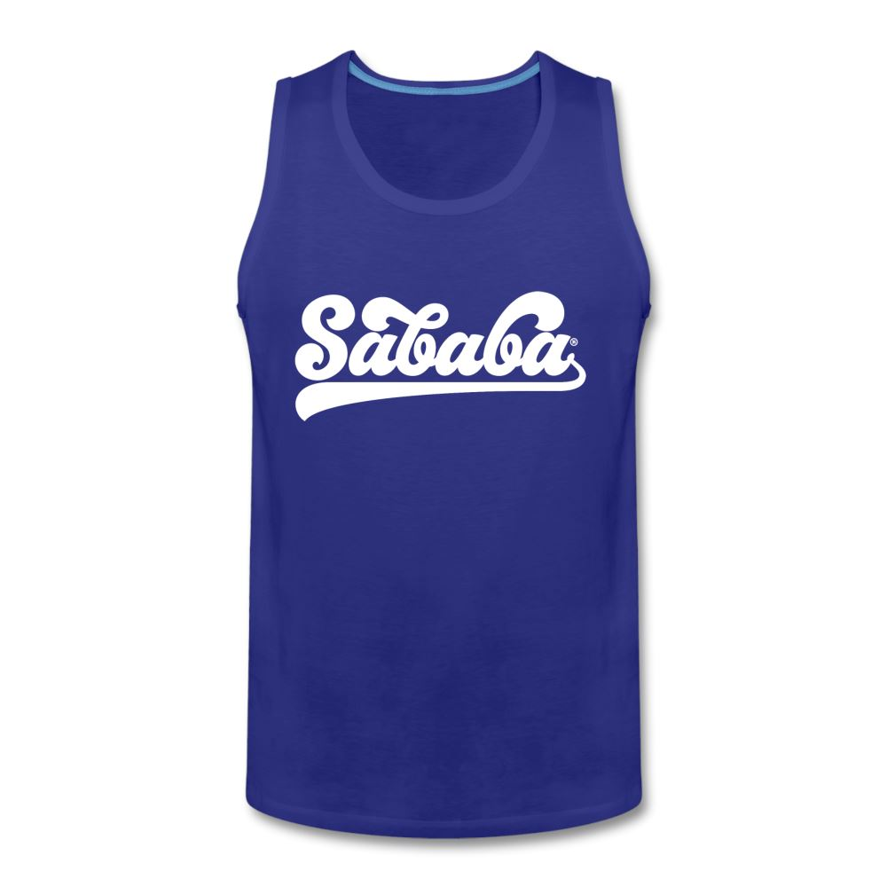SABABA® Logo Men's Premium Tank - royal blue